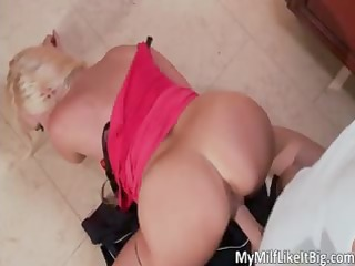 hawt blond hoe alana evans receives screwed