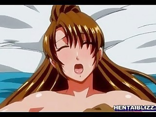 breasty manga gals receives squeezed her bigtits