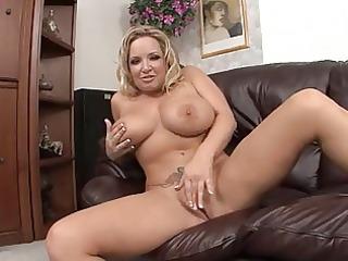 mommy with giant billibongs masturbates