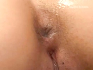 japanese cock deeply in her constricted butt