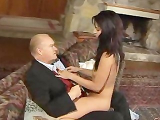 tera wray fools around with older cock!