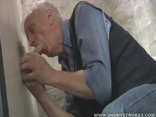 large pecker throughout the gloryhole