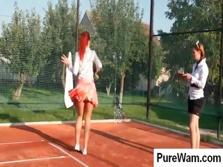 tennis some acquire naughty on the clay court