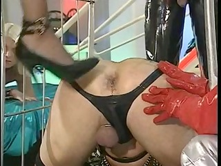 german sheboy triple anal fist and foot fisting