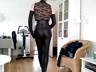 sissy hot leather cutie 3