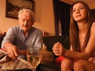 granddad drilled by youthful alice