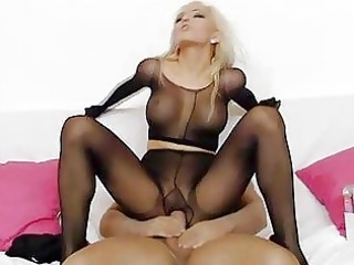 hawt golden-haired playgirl nicky girl hose sex
