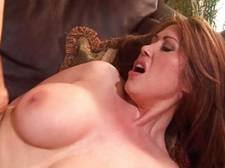 hawt oriental with bigtits receives her cum-hole