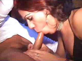 redhead sheboy is skilful at engulfing