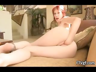 hawt redhead honey goes avid fisting her part1