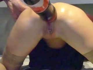 movie scene of a granny doing insane anal