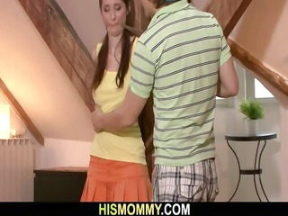 bound up gf receives used by her bfs mamma