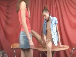 super thin legal age teenagers exposed on the