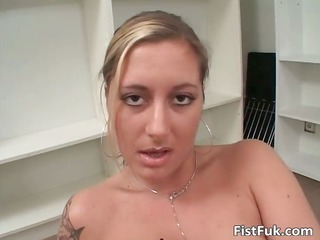 lewd tattooed brunette hair receives a-hole part3