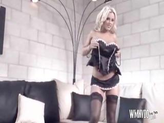 hawt bree olson scene, underware anal blond