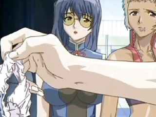 a hawt ebon anime hotty getting nailed