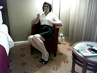 sissy debbie smokes for her corporalist