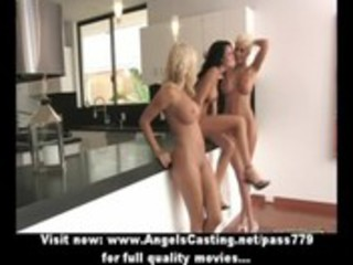 lesbo some with hawt girls in 24 and toying and