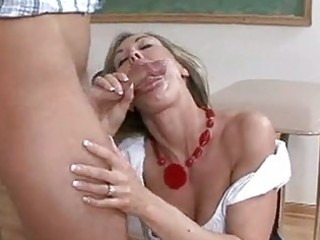 hawt sexy teacher brandi love receives her throat