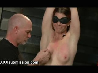 tied playgirl on all four receives a-hole plugged