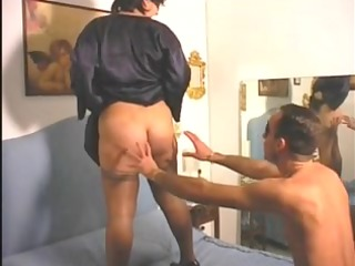 older large gorgeous woman f......boy-friend with