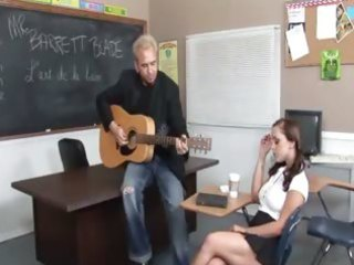 music teacher bonks with breasty 07yo cutie