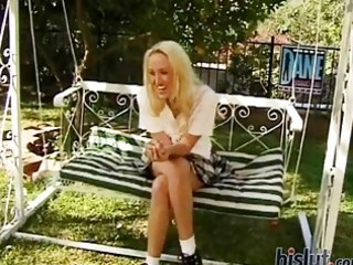 alana evans looks deliciously hot and virginal