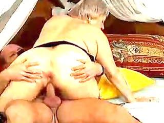 insane old mamma acquires spunk fountain sex